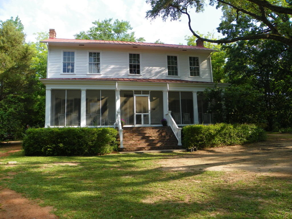 Author Flannery O'Connor penned many of her stories at Andalusia, her farm in Milledgeville.