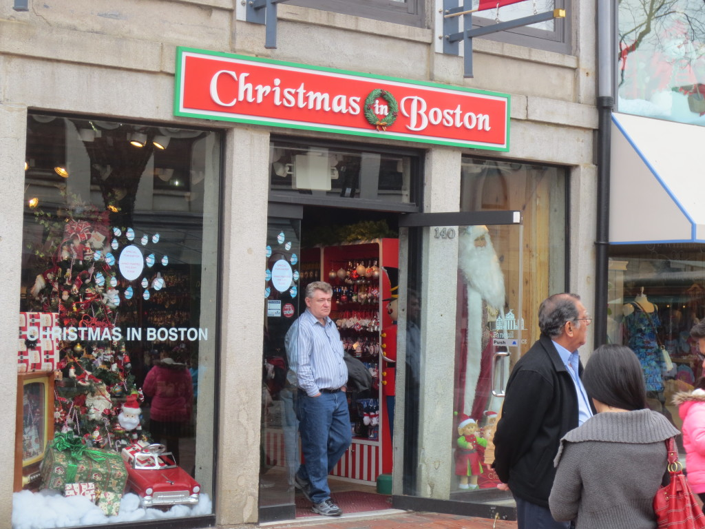 Christmas in Boston shop 3-31-13