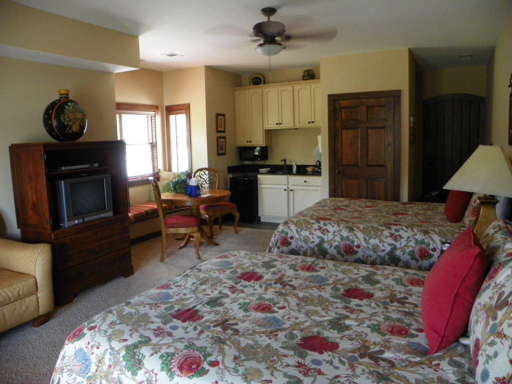 My room at Cuscowilla was spacious and comfortable, and included a beautiful view of Lake Oconee.