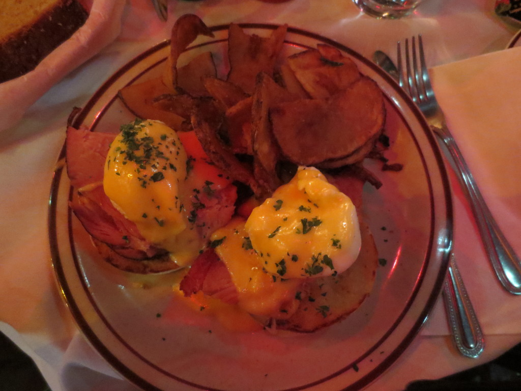 Eggs Benedict and Frites 3-31-13 The Beehive Boston