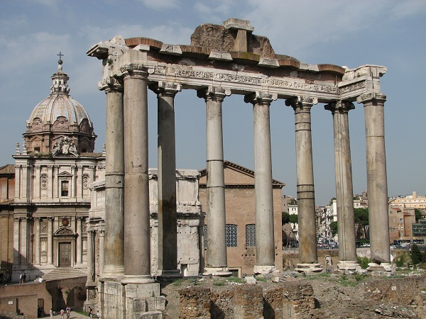 Italy; Rome; Roman Forum