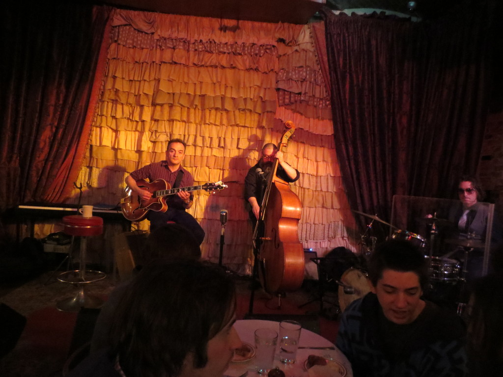 Mike Meile Trio Great Jazz The Beehive 3-31-13