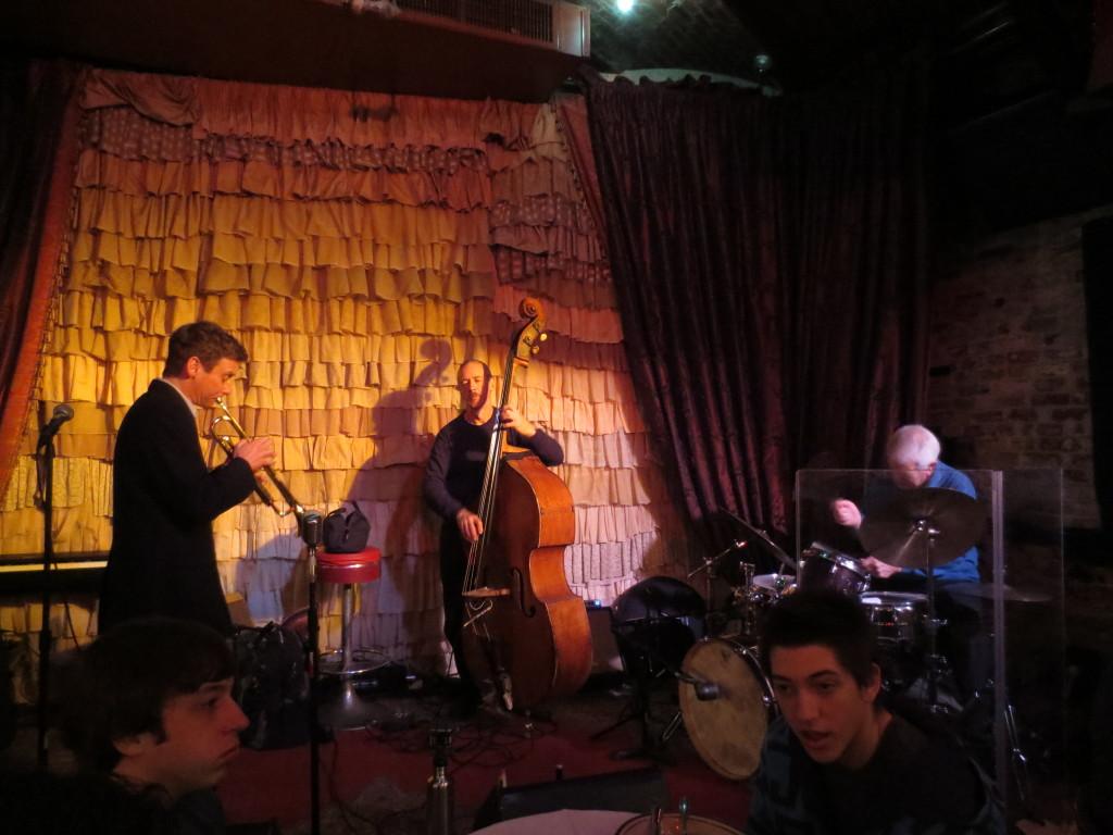 Phil Grenadier Easter jazz brunch  The Beehive 3-31-13
