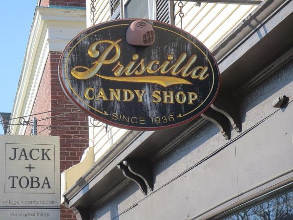 Priscilla Candy Shop, Concord, MA