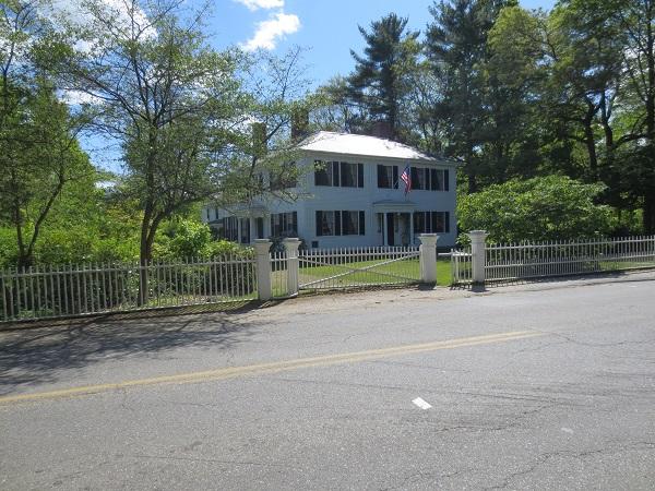The Home of Ralph Waldo Emerson, Concord, MA