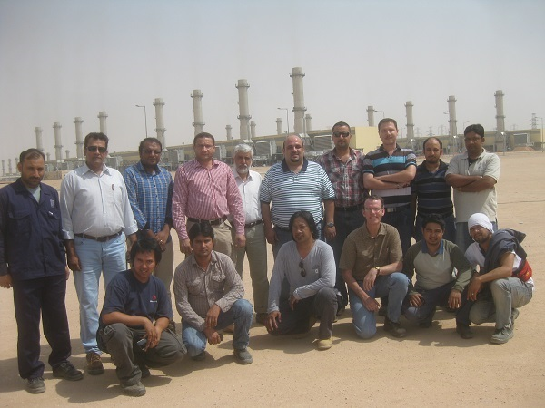 The gang at pp10 in saudi