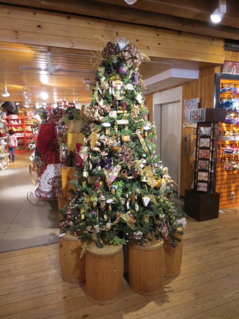 Wine Christmas Tree 3-31-13 Boston