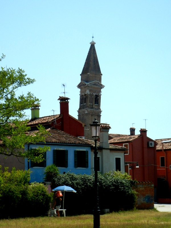 bell tower in burano
