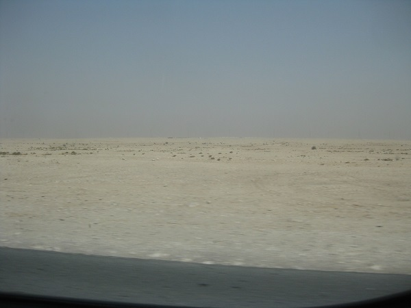 *Most of Qatar is a very bleak desert as shown here but the developed cities are cultural hot spots for the middle east vacationer