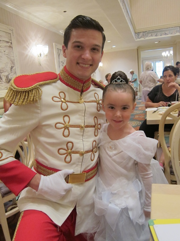with Prince Charming
