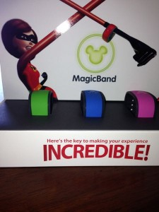 Magic Bands Incredibles box