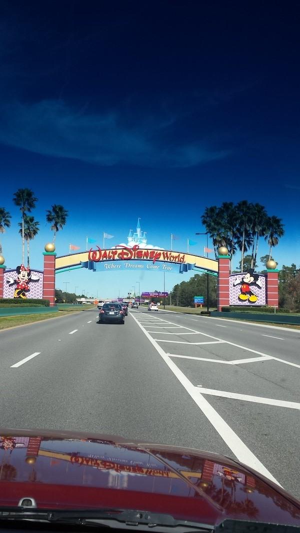 disneyworld entrance