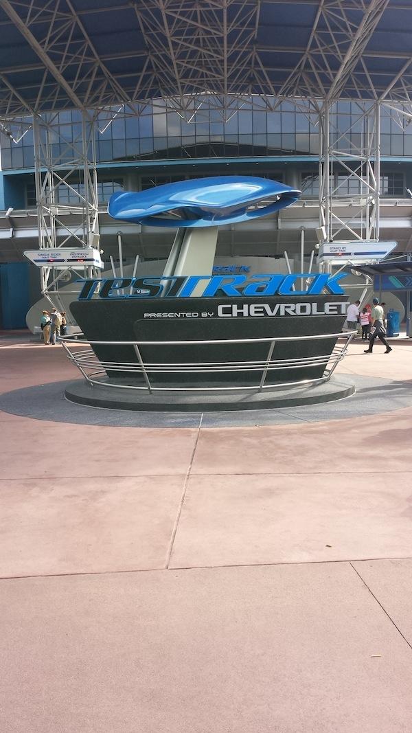 Test Track at Disney