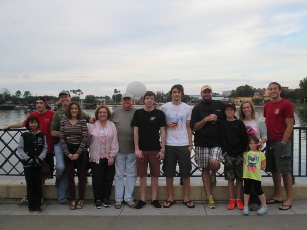 My Family at DisneyWorld