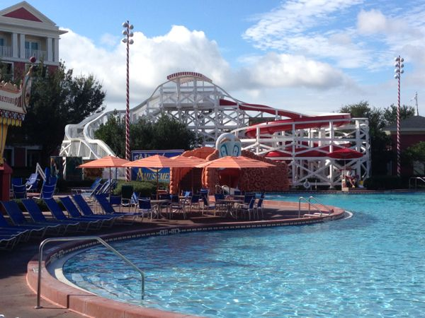 Luna Park pool at Boardwalk Inn