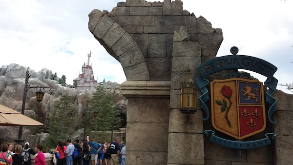 Be Our Guest Restaurant 1-14-14