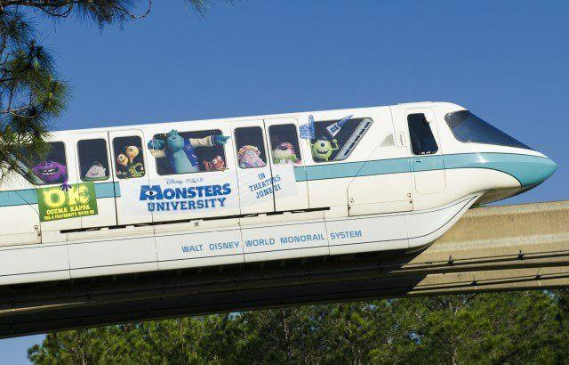 Monsters Inc monorail