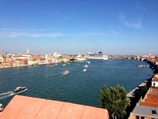 view from skyline rooftop hilton venice molino stucky