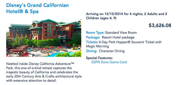 Disneyland Resort December 2014 Quote