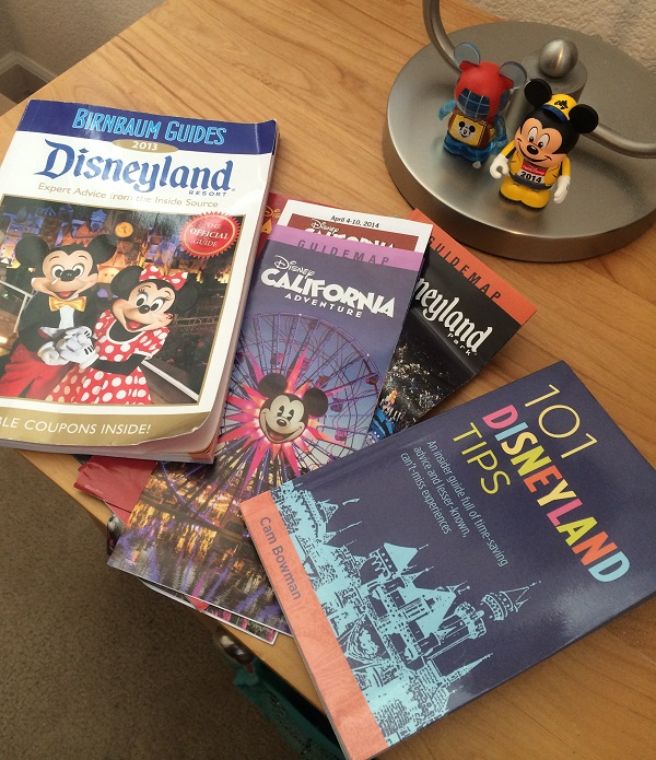 Recommended Disneyland Resort Planning Books