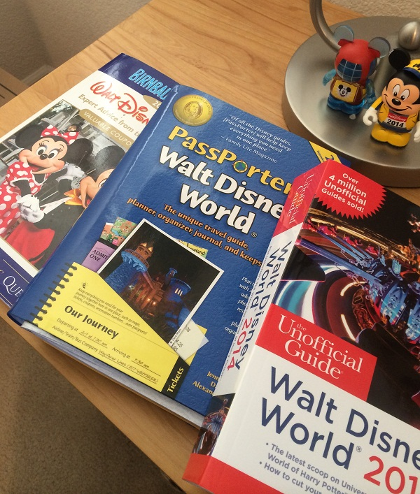 Recommended Walt Disney World Planning Books