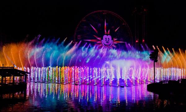 World of Color Photo Credit Disney Parks
