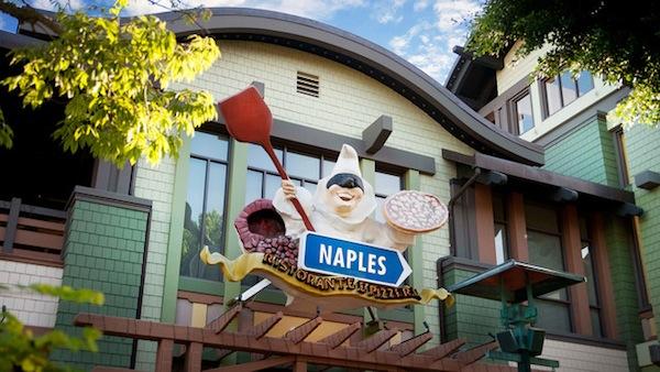 Naples Restaurant - Photo Credit Disney