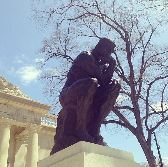 Rodin Museum Philadelphia with kids in two by This Girl Travels