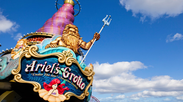 Ariel's Grotto Restaurant - Photo Credit - Disneyland Resort
