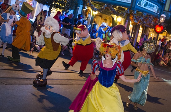 Boo to You Halloween Parade - Photo Credit Disney Parks Blog