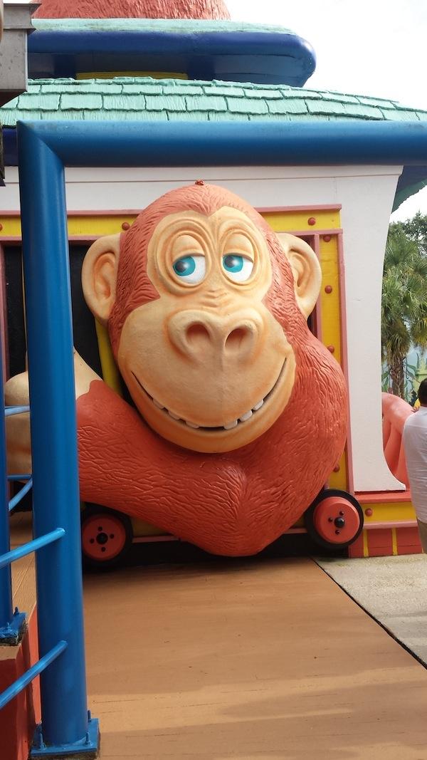 Give Kids the World Village Monkey