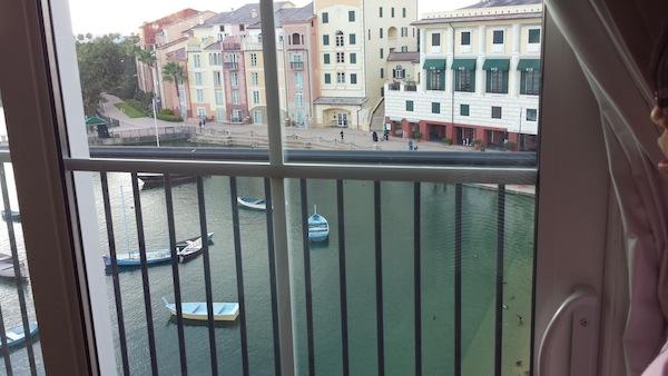 Loews Portofino Bay view from room