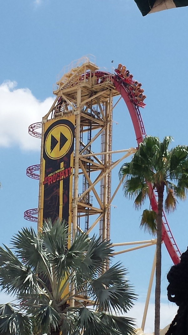 Rip Ride RockIT rollercoaster