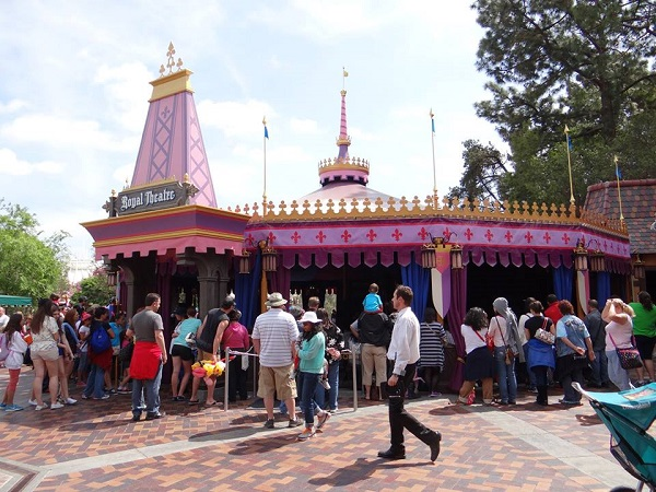 Royal Theatre at Disneyland