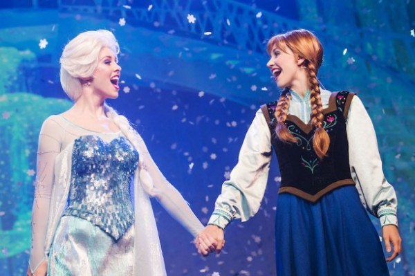 Anna and Elsa - Walt Disney World - Photo Credit - Walt Disney World Parks