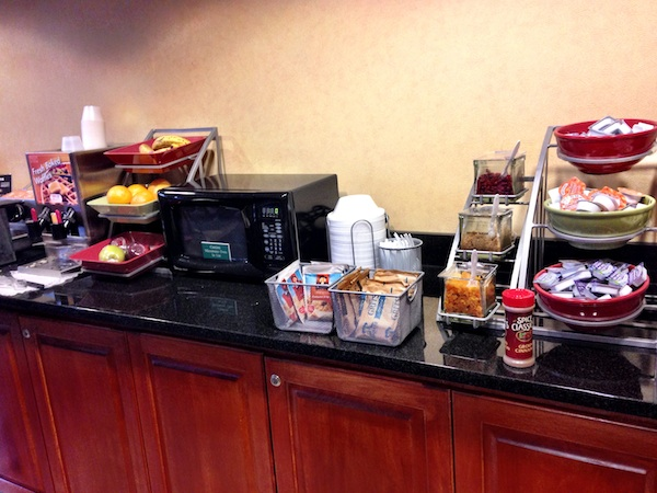 hotel breakfast bar 2