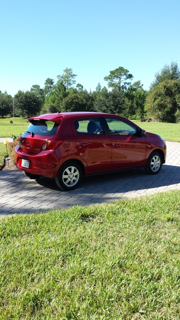 2015 MItsubishi Mirage Review | This Girl Travels