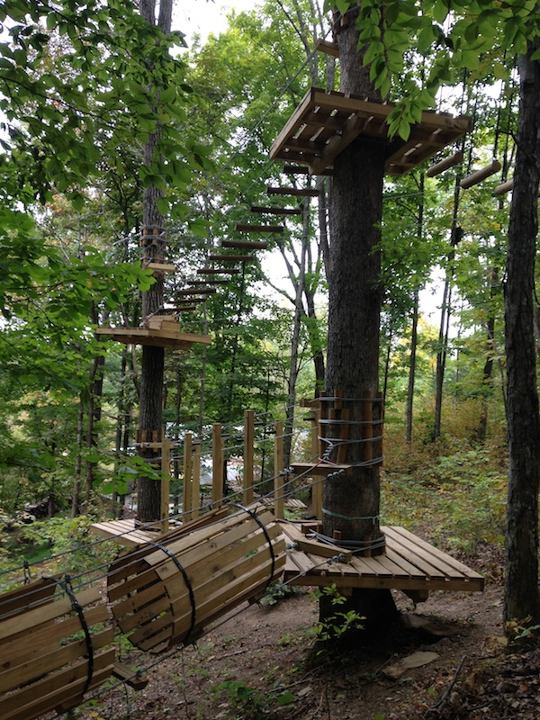 Find Adventure At Tree Tops Ropes Course This Girl Travels