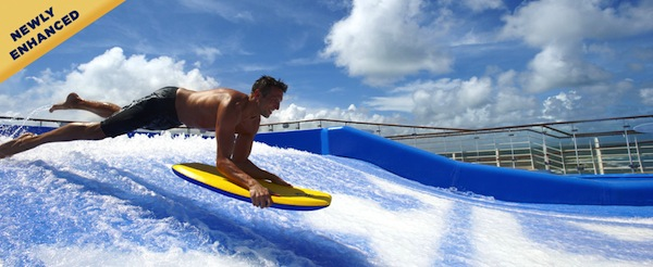 FlowRider Surf Simulator - photo credit: royalcaribbean.com