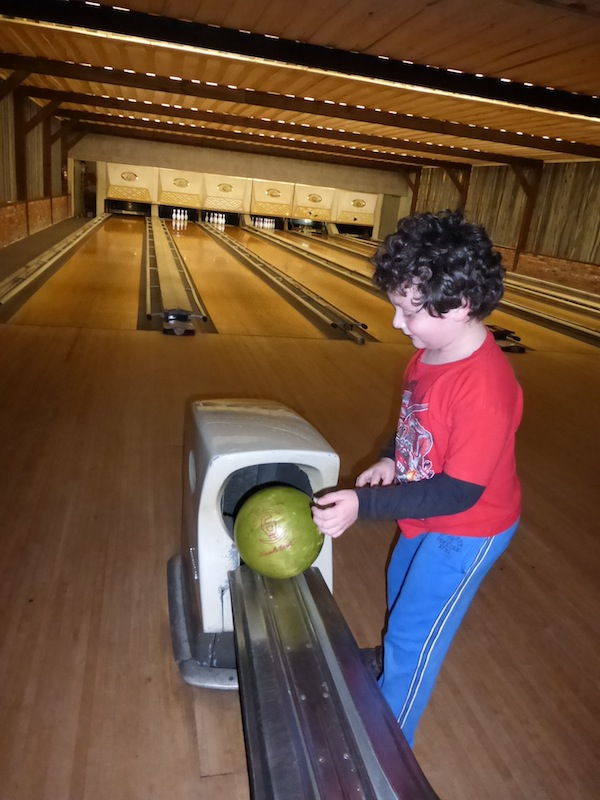 Antique Bowling