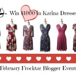 February #Frockstar™ Giveaway Event ($1000 Karina Dresses Giveaway)!