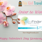 """Happy Valentine's Day Giveaway!"" from This Girl Travels for a Chance to Win a $75 Gift Card to Spafinder Wellness 365!"