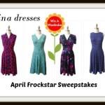 April Frockstar™ Giveaway Event – $1000 in Karina Dresses!!