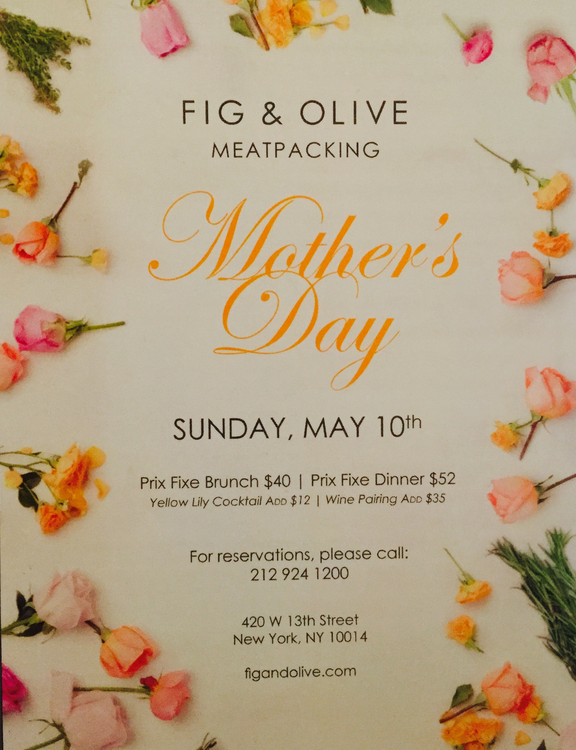 Fig and Olive Mother's Day