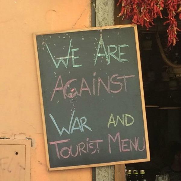 tourist menu
