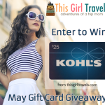 This Girl Travels Sponsors Giveaway – Win a $25 Kohl's Gift Card!