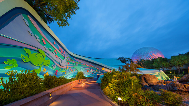 The Seas with Nemo and Friends Exterior - Photo Credit Disney Parks