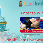 Happy 2 Year Anniversary to This Girl Travels! Enter Our Giveaway to Win a $100 Disney Gift Card!
