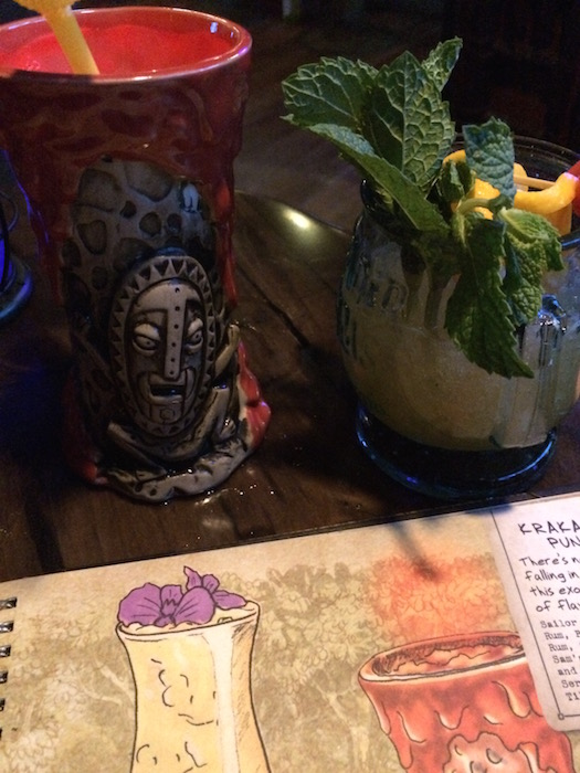 Trader Sam's Grog Grotto - Drinks