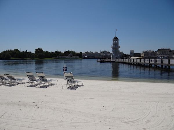 Disney Yacht Club - Beach